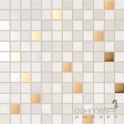 Плитка Supergres Ceramiche Petali Mosaico Fresia Oro