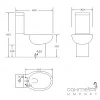 Унитаз Primera Shape 8190015