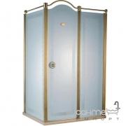 Душевая кабина с золотым профилем Devit Charlestone FEN2012MR (правая)