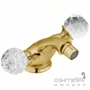 Смеситель для биде Devit Charlestone CN60155002G (золото)