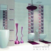Бордюр Ceramika Color Calipso List Rosa 1.2x40