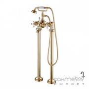 Смеситель напольный для ванны с ручным душем Kraus Apollo KEF-16019 в цвете