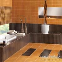 Плитка керамическая фриз Pilch Madera 10W Samba 14.7x45