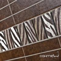 Плитка керамическая фриз Pilch Mistica 8 9.8x45