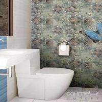 Плитка керамическая фриз DUAL GRES Listello Butterfly 5x60