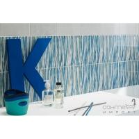 Плитка Paradyz Salva Bianco Listwa Geometryczne Azzurro