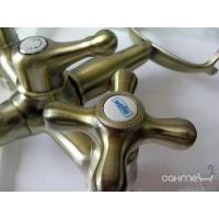 Смеситель бронзовый для ванны Welle Amalia 27011T4HO