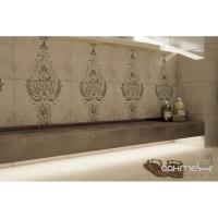 Плитка Kwadro Ceramika Oktawa Beige Listwa Ornament 4,8 x 33,3