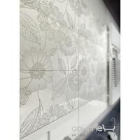 Плитка Kwadro Ceramika Libretto Bianco Listwa 4,8 x 25