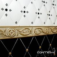 Плитка керамическая бордюр Cevica LOFT CENEFA FLOR GOLD