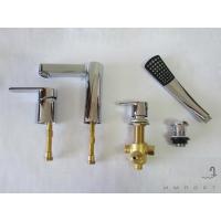 Врезной смеситель для ванны Welle Ernest AR28218D-1303