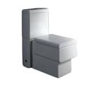 Унитаз-компакт с крышкой soft-close EAGO Heidelberg WA333P/SA3330