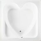Ванна квадратная Rak Ceramics Heart (белая )