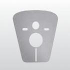 Пластина вибро-звукоизоляционная для подвесных унитазов и биде Kerasan 7533