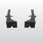 Набор L-образного крепежа WB5N для напольных унитазов и биде Kerasan 7614 хром