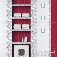 Плитка керамическая Интеркерама BRINA бордюр вертикальный серый БВ 23 071