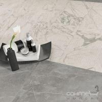 Плитка из белой глины фриз Atlas Concorde Marvel Statuario Select Spigolo LVSS
