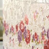 Плитка керамическая фриз Petracer's Primavera Romana LISTELLO LOGO BIANCO