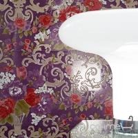 Плитка керамическая фриз Petracer's Primavera Romana LISTELLO ROSSO