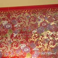 Плитка керамическая фриз Petracer's Primavera Romana LISTELLO LOGO VIOLA