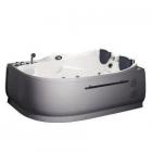 Гидромассажная ванна EAGO AM124JDCW1 (L)