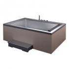 Гидромассажная ванна EAGO AM146-1JDTSZ (R) серая