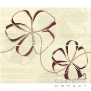 Плитка Ceramika Color Venus Cream Inserto2 50x60 (цветы)