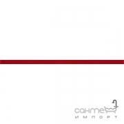 Бордюр Ceramika Color Crypton red glan listwa szklana 2.3x60