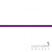 Бордюр Ceramika Color Crypton viola glan listwa szklana 2.3x60