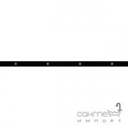 Бордюр Ceramika Color Neo-Geo Cristal Glass Black 2.5x60
