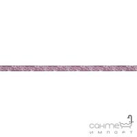 Бордюр Ceramika Color Crypton violet listwa szklana 2.5x60