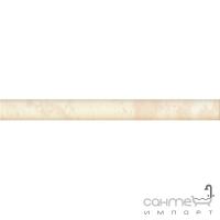 Бордюр Kwadro Ceramika Amarylis Brown 25X2,5