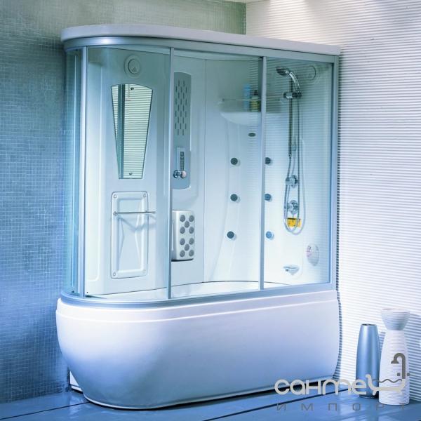 дизайн ванной комнаты фото с гидробоксом