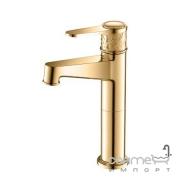 Смеситель для раковины Yatin Carving Gold 8065002VF золото