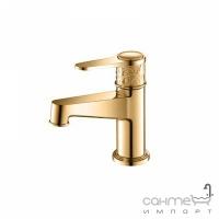 Смеситель для раковины Yatin Carving Gold 8065001VF золото