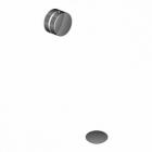 Cлив/перелив для ванны Bonomi 112012 Матовый Никель, Черный, Золото