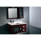 Комплект мебели для ванной комнаты CRW GSP3110 бордовый