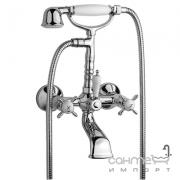 Смеситель для ванны с душевой лейкой Tres Retro-Tres 1.24.170.61 Хром