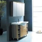 Комплект мебели для ванной комнаты CRW GSP04 (бордовый)