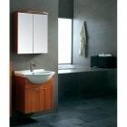 Комплект мебели для ванной комнаты CRW GSP19 (бордовый)
