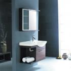 Комплект мебели для ванной комнаты CRW GSP02 (бордовый)
