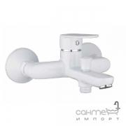 Смеситель для ванны однорычажный Imprese Laska 10040W белый
