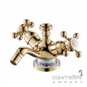 Смеситель для биде Devit Charlestone Ceramic 80516142G золото