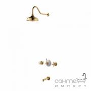 Душевая система Devit Charlestone Ceramic 80530142G золото