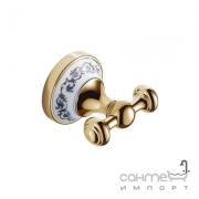 Крючок для полотенца Devit Charlestone Ceramic 3054142G золото