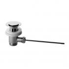 Донный клапан с пробкой Bianchi Sifoni SCRNOR729TO0/CRO Хром/Золото