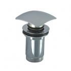 Донный клапан KLIK-KLAK полу-автомат квадратный KFA Armatura 660-454-00 Хром