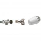 Комплект для подключения компактных радиаторов (с боковым подключением) Honeywell VTL320AA15