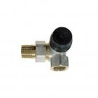 Термостатический радиаторный клапан (клапан под термоголовку) Honeywell V2000LBB10