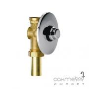 Пневматический кран для слива туалета встраиваемый Remer Rubinetterie S.p.A. Tempor TE171/CR Хром